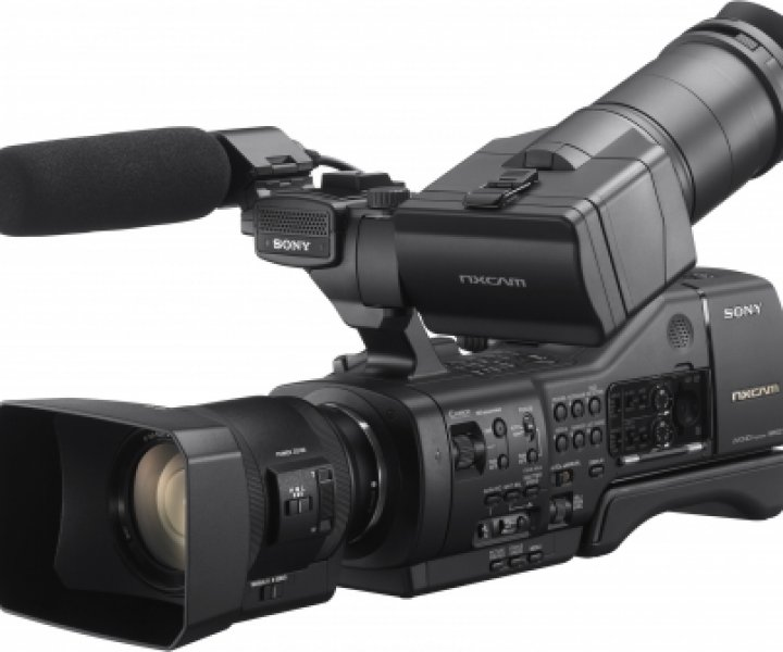 The new Sony NEX-EA50 Camcorder (image: sony.co.uk)