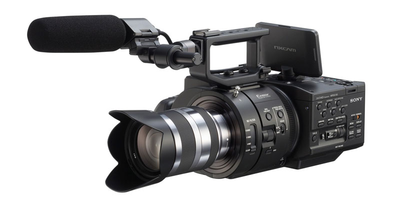 Sony NEX-FS700 Super 35 4k-ready super slow motion video camera