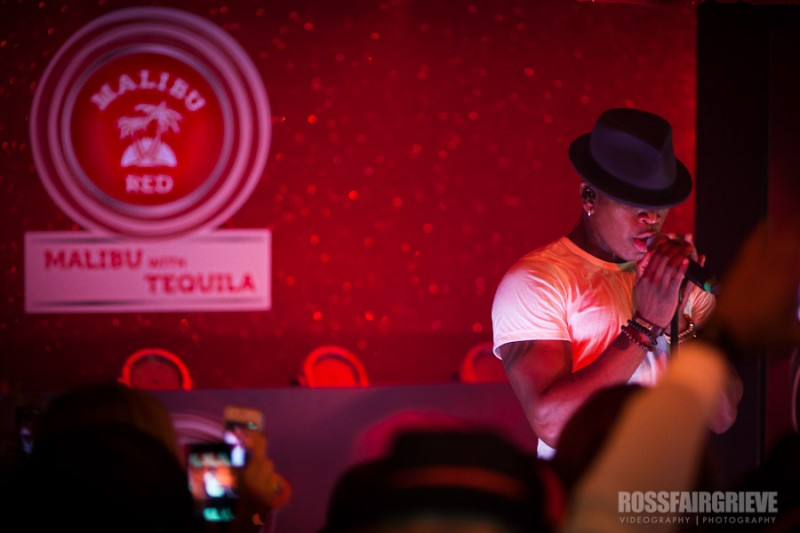 Ne-Yo Perfoms at UK launch of Malibu Red