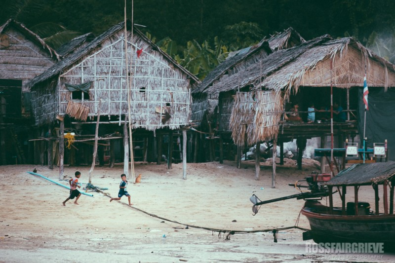 Koh Surin Moken Village