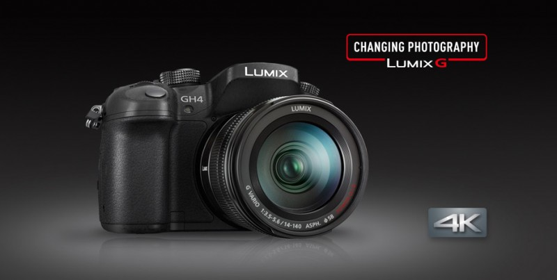 Panasonic GH4 4K Stills and Video Camera