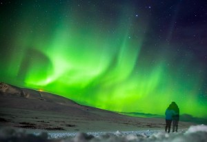 Photographer Ross Fairgrieve photographs Northern Lights in Iceland